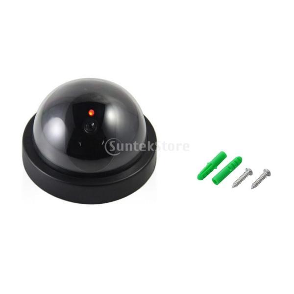ノーブランド品ダミー カメラ ハイ シミュレーション  CCTV モニター ランプ ドーム ウォッチャー ウォッチドッグ|stk-shop