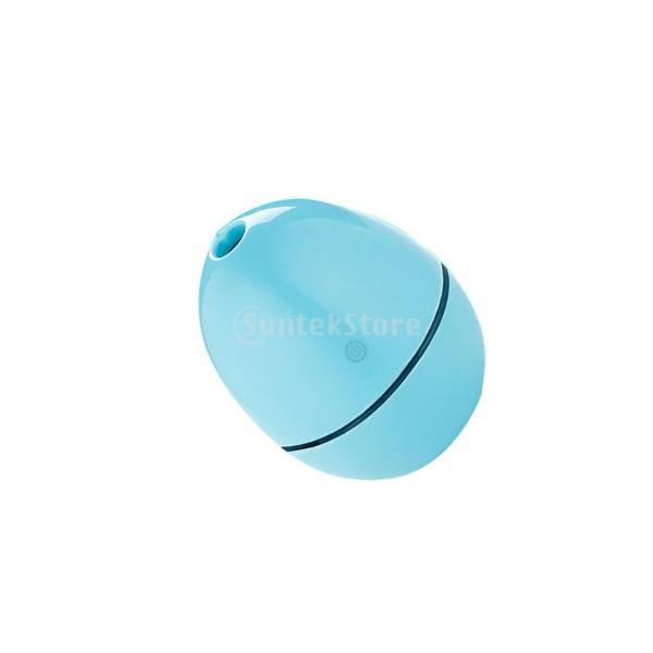 ノーブランド品 ABSプラスチック製 2W USB ポータブル 卵形 加湿器 アロマディフューザー 空気 アトマイザー stk-shop 02