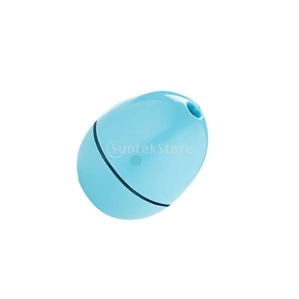 ノーブランド品 ABSプラスチック製 2W USB ポータブル 卵形 加湿器 アロマディフューザー 空気 アトマイザー stk-shop 15