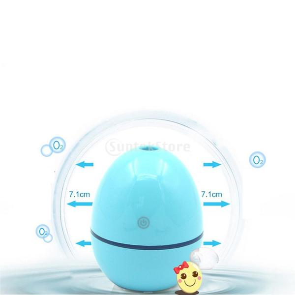 ノーブランド品 ABSプラスチック製 2W USB ポータブル 卵形 加湿器 アロマディフューザー 空気 アトマイザー stk-shop 17