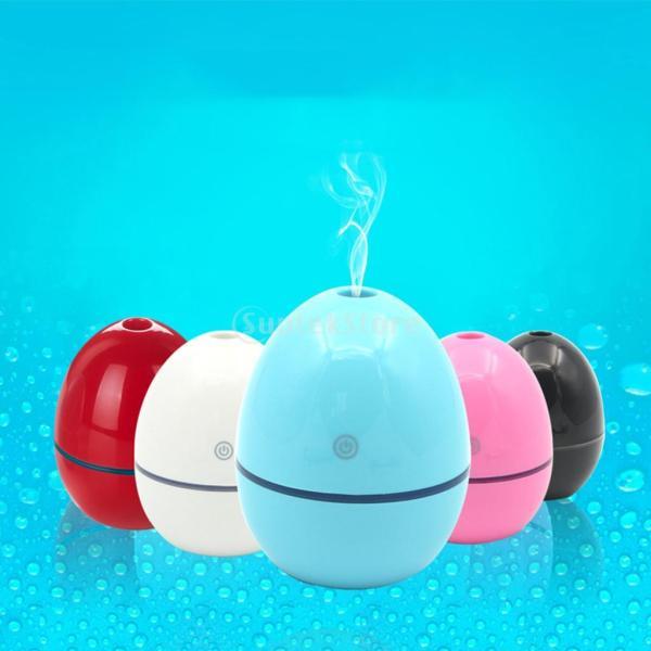 ノーブランド品 ABSプラスチック製 2W USB ポータブル 卵形 加湿器 アロマディフューザー 空気 アトマイザー stk-shop 03