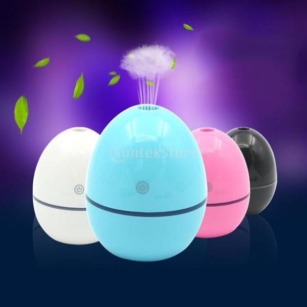 ノーブランド品 ABSプラスチック製 2W USB ポータブル 卵形 加湿器 アロマディフューザー 空気 アトマイザー stk-shop 08