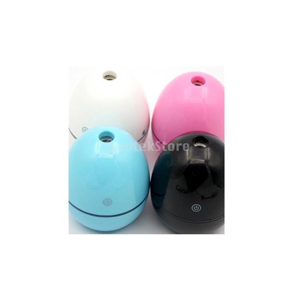 ノーブランド品 ABSプラスチック製 2W USB ポータブル 卵形 加湿器 アロマディフューザー 空気 アトマイザー stk-shop 09