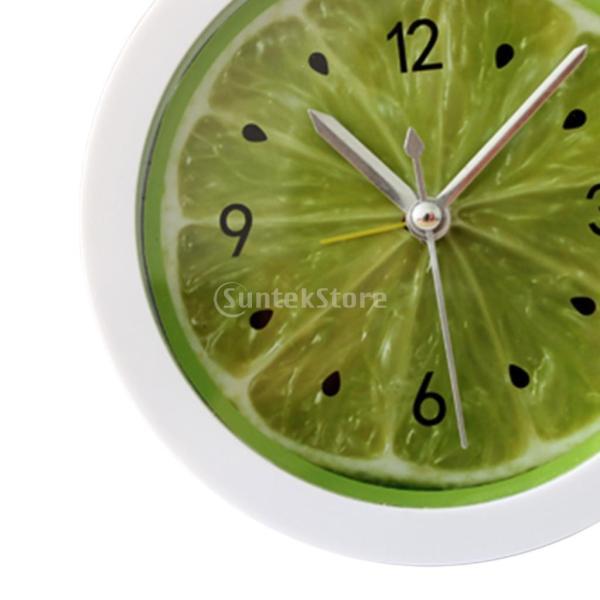 10タイプ選べる ヴィンテージ クラシック時計 ヴィンテージ目覚まし時計 快適 - ライム|stk-shop|06