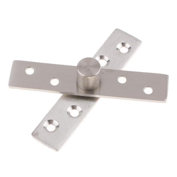 ステンレス鋼は360度の回転式蝶番の回転ドアの蝶番95x20x3mmを隠しました