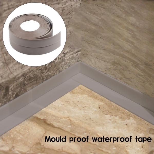 PVC壁シーリングストリップテープ防水自己接着コーキングキッチンバスルームブラウン