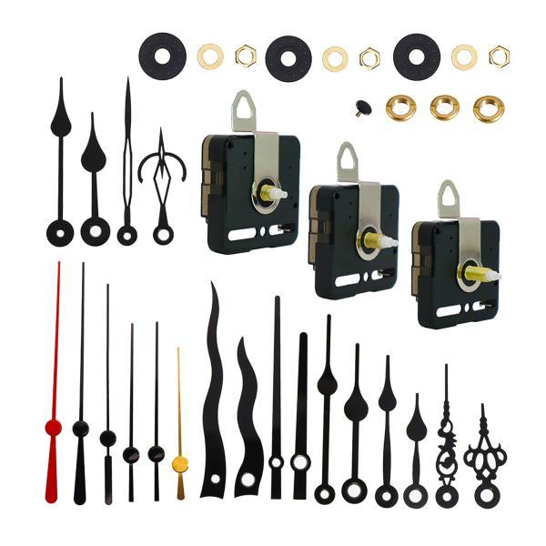 壁掛けクォーツ時計のムーブメント機構交換用修理部品(手付き)