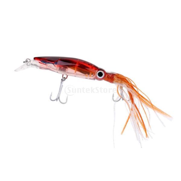 イカジグ 釣具餌 フック マグロ カジキ 海釣り 淡水ルアー ルアー 釣りルアー ブラウン stk-shop