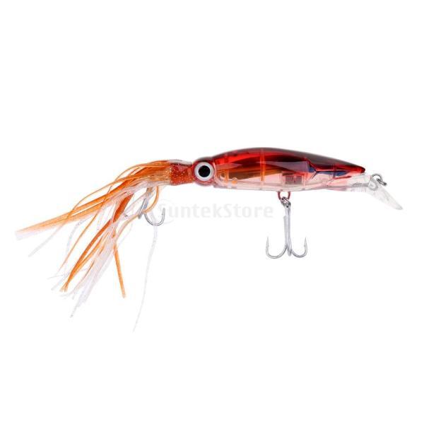 イカジグ 釣具餌 フック マグロ カジキ 海釣り 淡水ルアー ルアー 釣りルアー ブラウン stk-shop 02