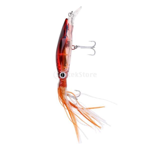 イカジグ 釣具餌 フック マグロ カジキ 海釣り 淡水ルアー ルアー 釣りルアー ブラウン stk-shop 03