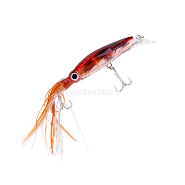 イカジグ 釣具餌 フック マグロ カジキ 海釣り 淡水ルアー ルアー 釣りルアー ブラウン stk-shop 06
