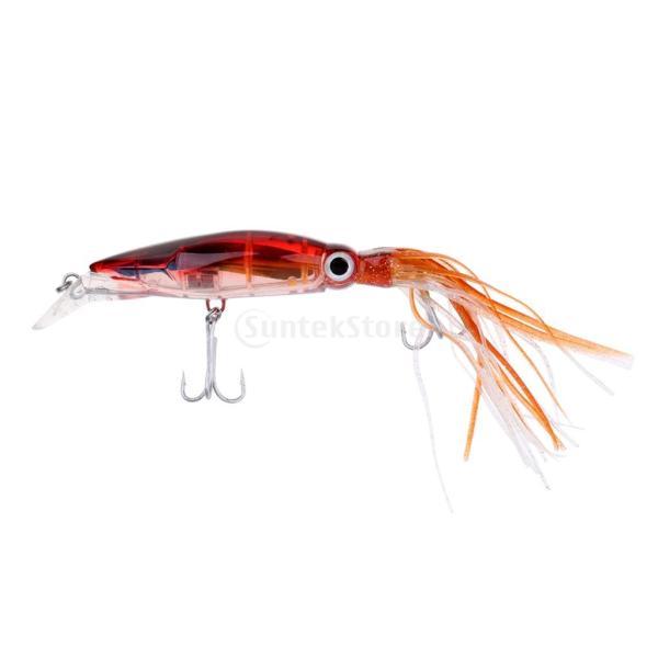 イカジグ 釣具餌 フック マグロ カジキ 海釣り 淡水ルアー ルアー 釣りルアー ブラウン stk-shop 07