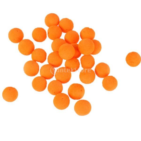 ノーブランド品 釣り ルアー 人工 粗い 釣り 餌 ルアー オレンジ