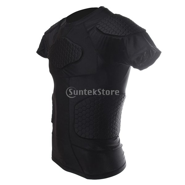 ノーブランド品  速乾性 衝突回避 セルラー フィットネス シャツ クイック ドライ バスケット ボール Tシャツ 4サイズ選べる - XXL|stk-shop|02