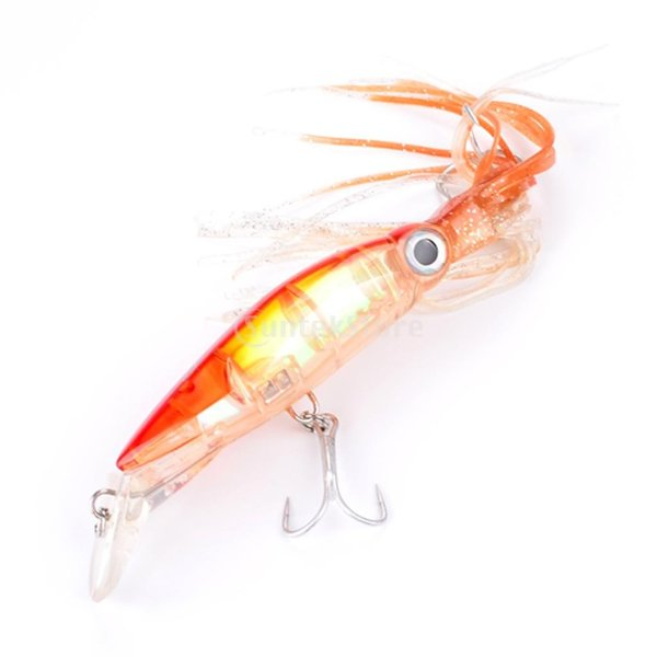 ノーブランド品 ABSハードフック 14cm イカ スカート トローリング ルアー ジグ 釣り ベイト フック タックル 5色選べる - A|stk-shop|04