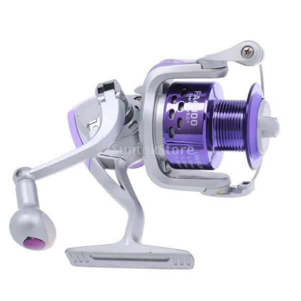 Lovoski 耐久性 抗衝撃 塩水 金属 釣りリール 魚 スピニングリール ハンドル付き 釣り用品  全3サイズ選べる - FA 4000