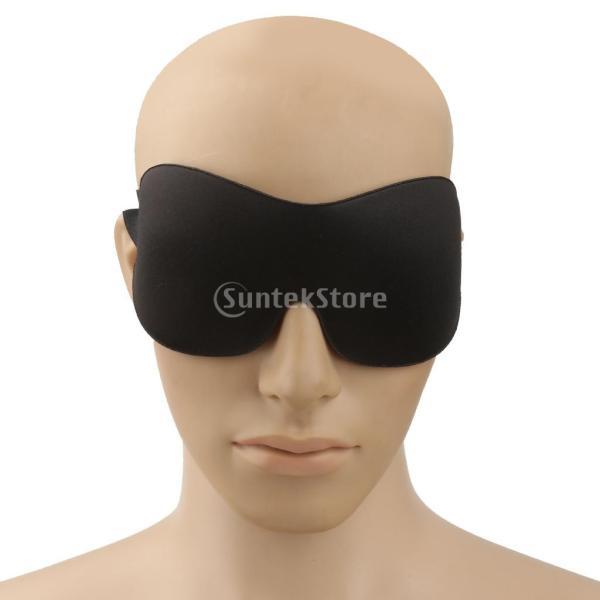 軽量 コットン トラベル アイ マスク ソフト パッド シェード カバー レストスリープ 目隠し
