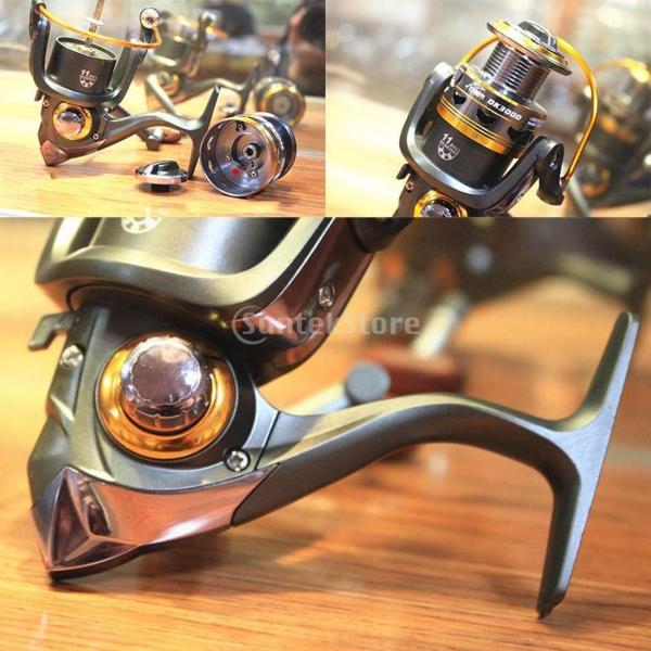 GRALARAメタル製 釣り スピニング リール スプール 6種類選べる - DK2000