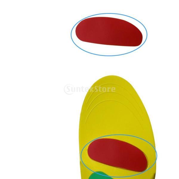 アーチサポート足底筋膜炎フラットフィートのかかとの痛みのための矯正インソール - サイズL|stk-shop|03