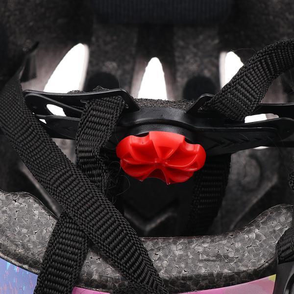 子供 キッズ プロテクター 7点セット 保護具 ヘルメット 肘、膝 手首パッド 耐衝撃性 快適 5〜15歳の子供に適し 3色選べる - ピンク|stk-shop|06