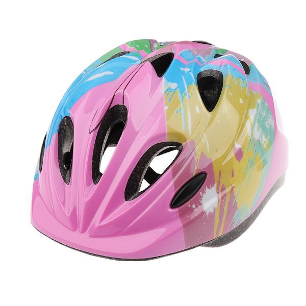 子供 キッズ プロテクター 7点セット 保護具 ヘルメット 肘、膝 手首パッド 耐衝撃性 快適 5〜15歳の子供に適し 3色選べる - ピンク|stk-shop|09