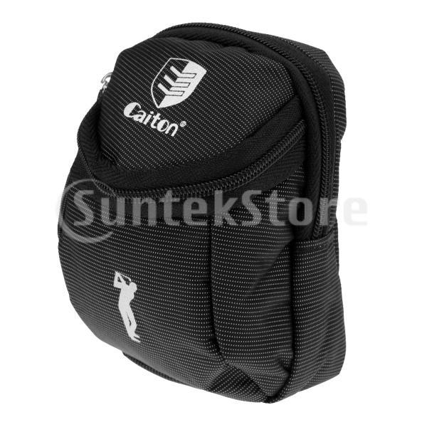 送料無料 ミニ ゴルフボール ボール収納 ホルダー ボールバッグ ボールケース ティーケース