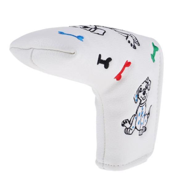 防水PUレザーゴルフブレードパターヘッドカバープロテクター|stk-shop|13