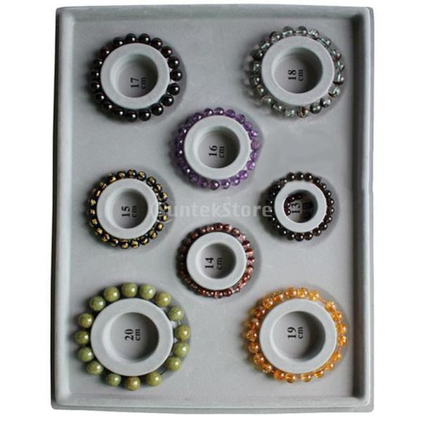 「ノーブランド」 ブレスレット DIY ビーズ 対策 ツール グレーダイヤル ディスクプレート 宝石|stk-shop