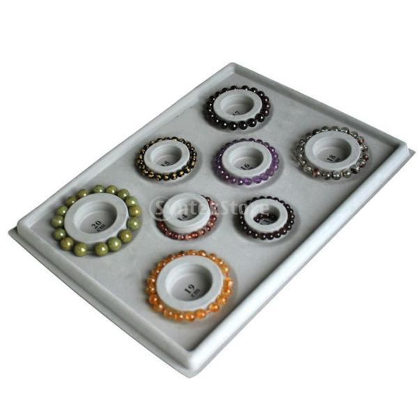 「ノーブランド」 ブレスレット DIY ビーズ 対策 ツール グレーダイヤル ディスクプレート 宝石|stk-shop|05