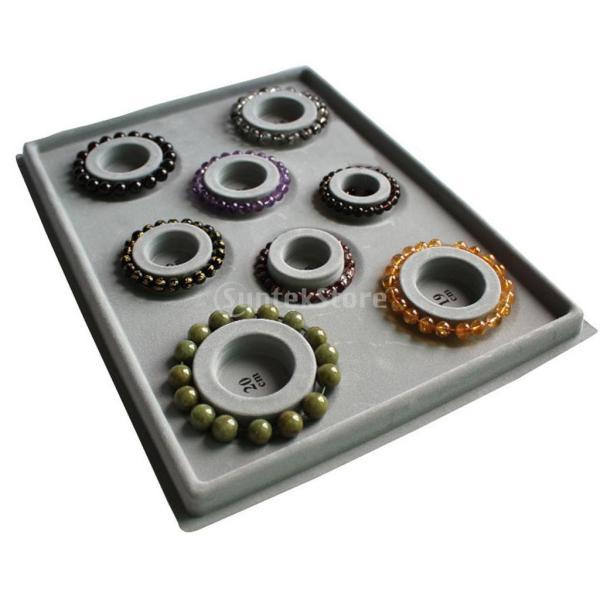 「ノーブランド」 ブレスレット DIY ビーズ 対策 ツール グレーダイヤル ディスクプレート 宝石|stk-shop|07