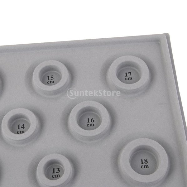 「ノーブランド」 ブレスレット DIY ビーズ 対策 ツール グレーダイヤル ディスクプレート 宝石|stk-shop|08