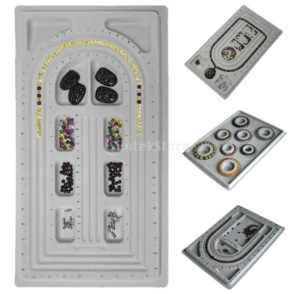 「ノーブランド」 ブレスレット DIY ビーズ 対策 ツール グレーダイヤル ディスクプレート 宝石|stk-shop|10