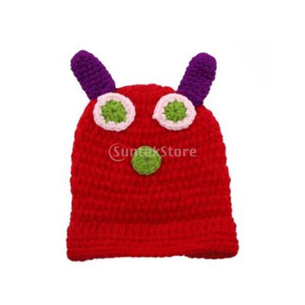 SONONIA 新生児 写真 道具 キャタピラ 変装 かぎ針 編み 織り コスチューム プレゼント