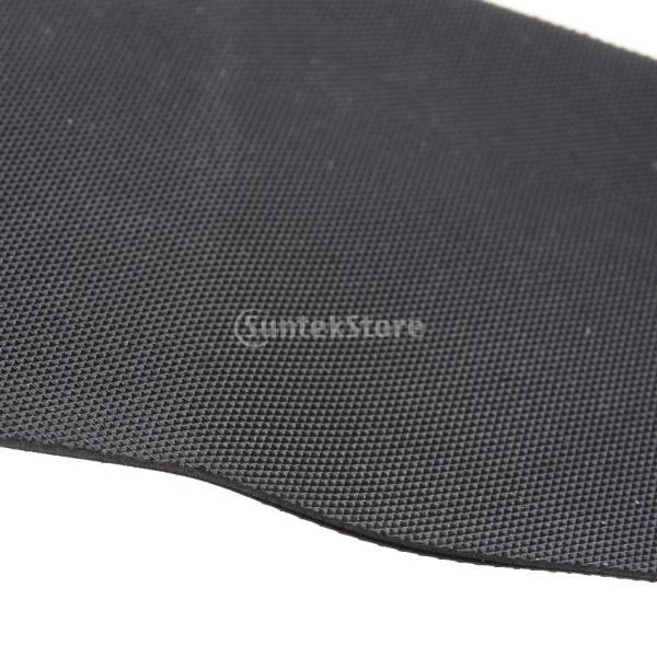 ノーブランド品  ゴム 滑り止め 靴修理用 サイズ調整 ハーフ ソール インソール フィットソール 耐摩耗 全5パターン - パターン4