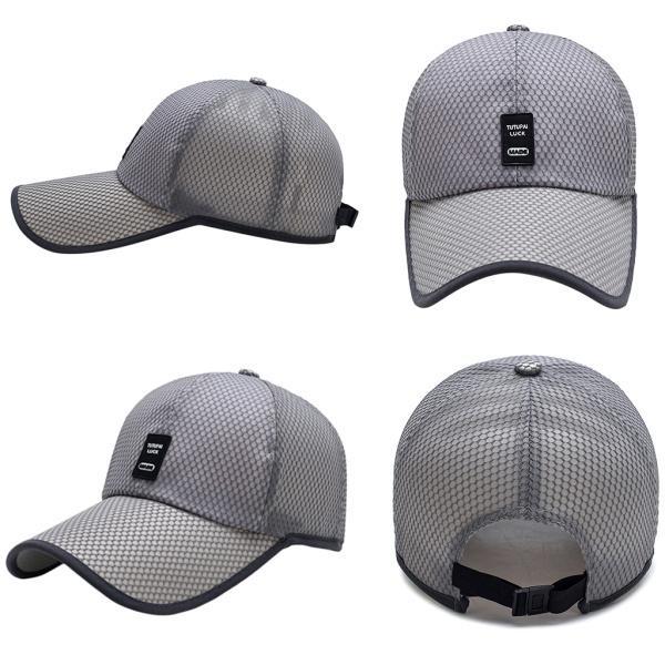 キャップ UVカット帽子 男女兼用 メンズレディース メッシュ帽子 通気性に強い スポーツ 旅行 ゴルフ サンハット 速乾 全6色 送料無料 stk-shop 08