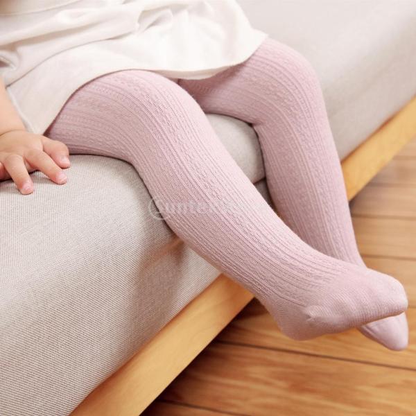 8478bc0337350 ... 幼児 女の子 ストッキング 赤ちゃん 子供 ケーブル ニット コットン タイツ パンツ 暖かい 快適 全4サイズ4 ...