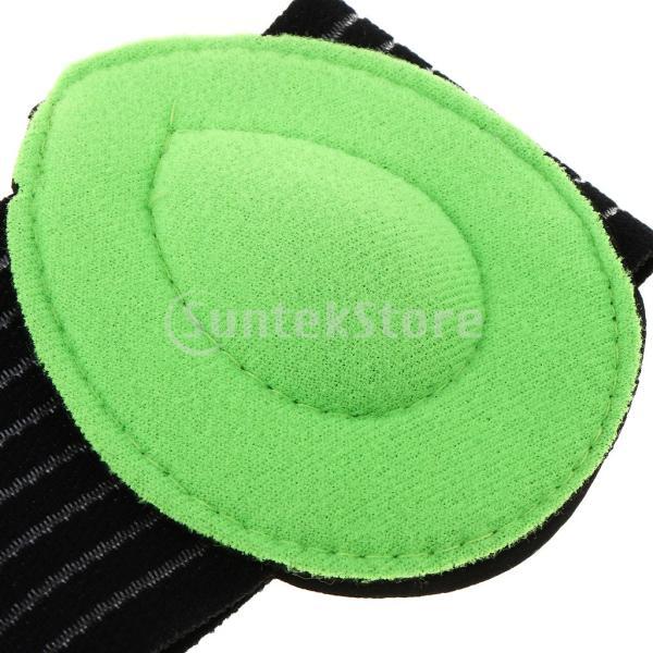 IPOTCH 1ペア アーチサポーター 足裏クッション 足保護パッド 偏平足 底筋膜保護 湿気吸収