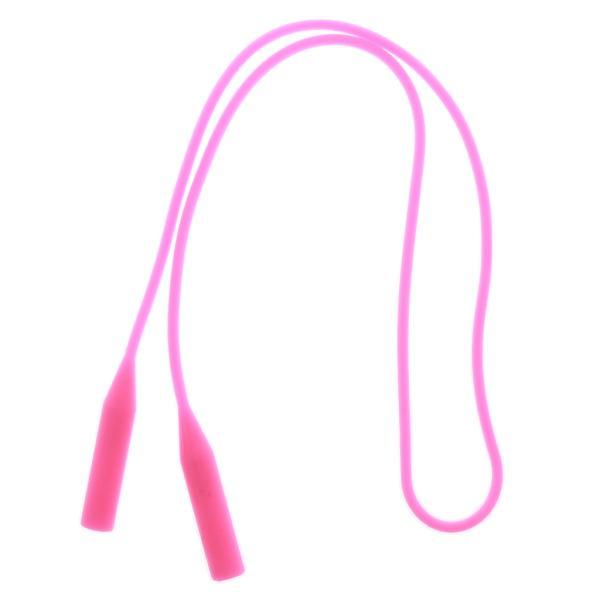ピンク シリコー製 サングラスホルダー メガネホルダー  メガネコード