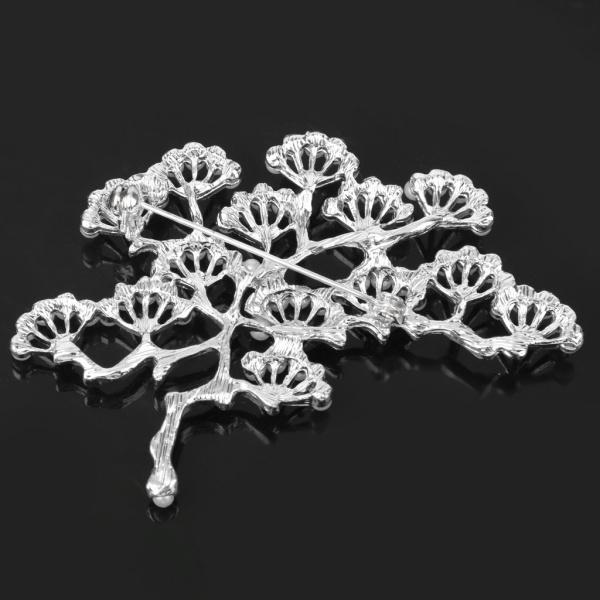 ノーブランド品 銀メッキ ブランチ設計 真珠のブローチ 結婚式のパーティー ブライダル ピン ギフト |stk-shop|05