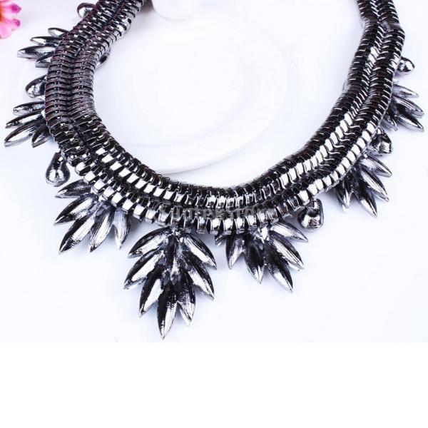魅力的な 宝石 ネックレスのチェーン イヤリング クリスタル ジュエリーセット 金