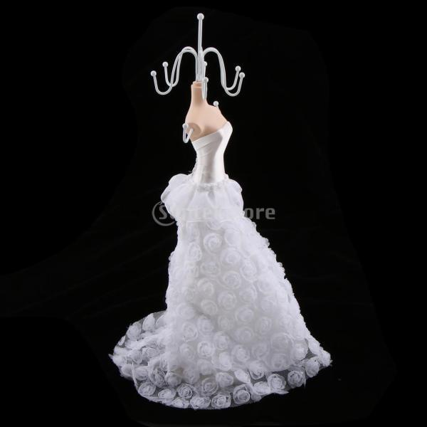 Baosity エレガント ディスプレイスタンド ジュエリー 美しい   整理 贈り物 装飾 便利 全4種類 - 大きなドレス