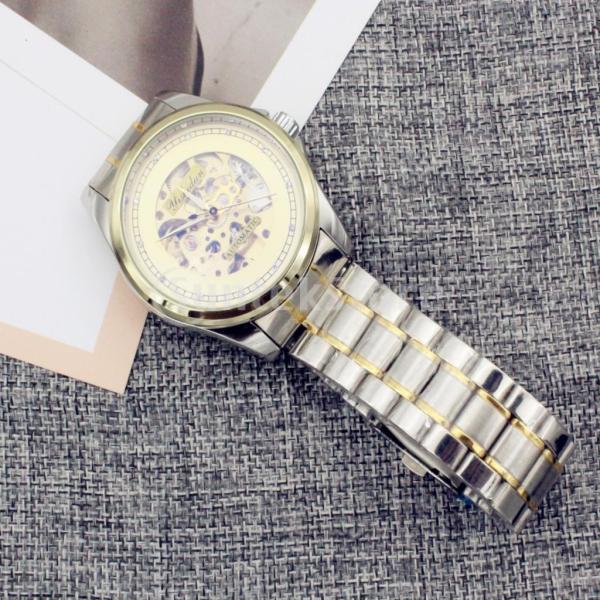 Fenteer 全10種類 腕時計 自動機械式  自動巻き ウォッチ  高品質 防水 ステンレススチール オシャレ ファッション アクセサリー 1ピース - #2