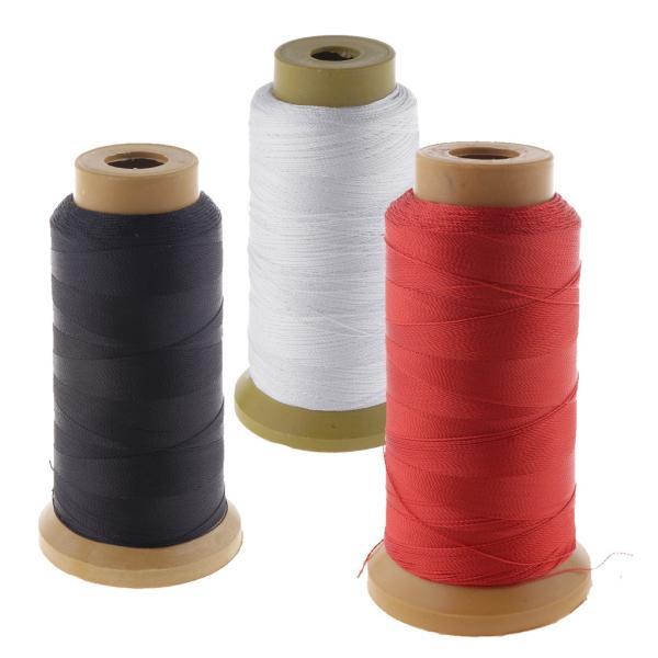 縫製アクセサリー1ロール用210dポリエステル汎用ミシン糸黒