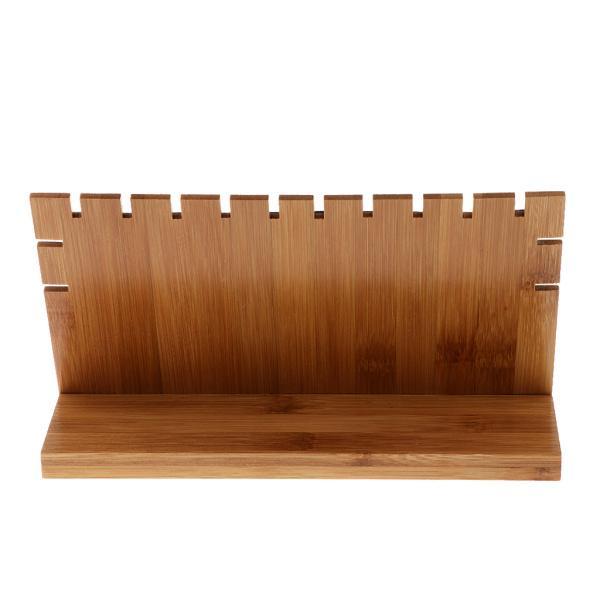 記述されているように純木の宝石類のネックレスの表示板立場のホールダーのショーケースのオルガナイザー