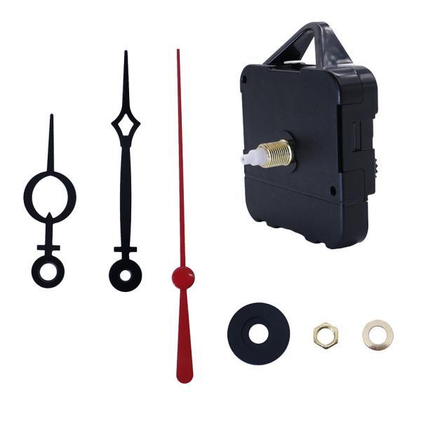 時計修理キット時計針ロングシャフト時針分針秒針クロックムーブメントDIY交換部品1セット