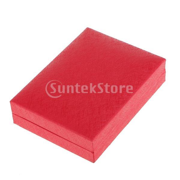 ノーブランド品 記念コイン ギフト ボックス ファンシー ダブル コインホルダー ギフト 全2色2サイズ (40mm, レッド)|stk-shop|06