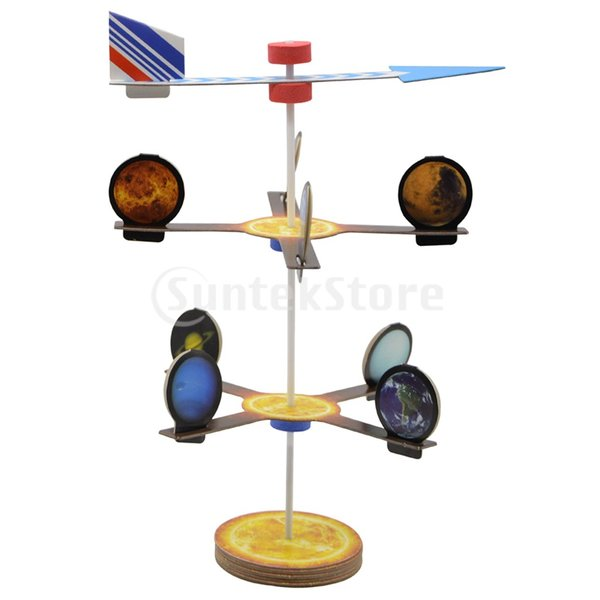 Kesoto DIY組み立て 紙製 知育開発 惑星モデル 科学天文学 地理学 教育玩具