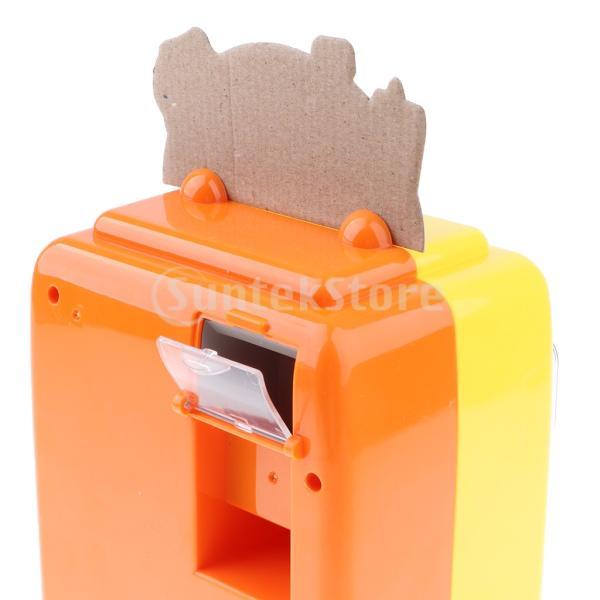 KESOTO お店屋さん ごっこ遊び 自動販売機 ふり遊びおもちゃ ままごと遊び おもちゃ 2色選択 - イエロー stk-shop 03