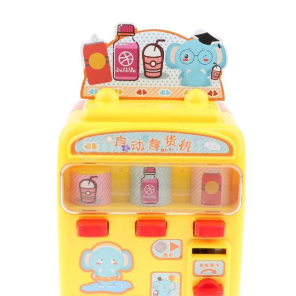 KESOTO お店屋さん ごっこ遊び 自動販売機 ふり遊びおもちゃ ままごと遊び おもちゃ 2色選択 - イエロー stk-shop 05