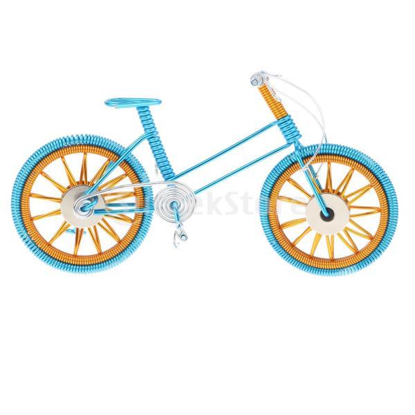 Perfeclan 全4色 バイクモード 自転車模型 1/10スケール マウンテンバイクモデル おもちゃ コレクション - 青
